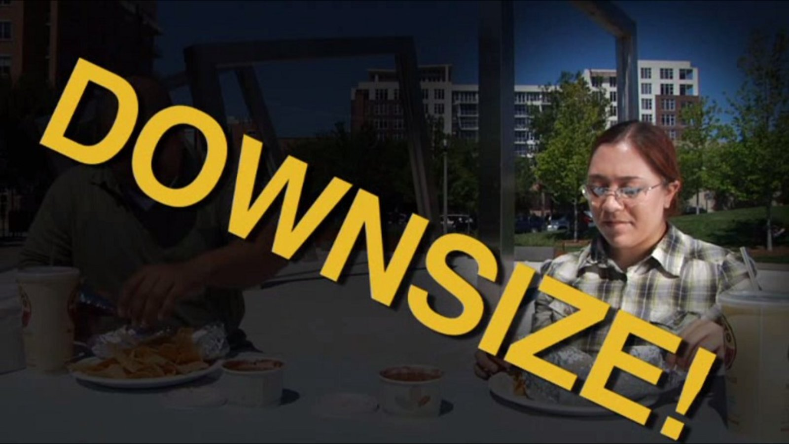 Eat Less! The Upside of Downsizing