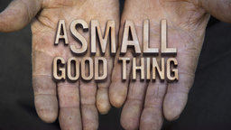 A Small Good Thing - The Sources Of Human Happiness